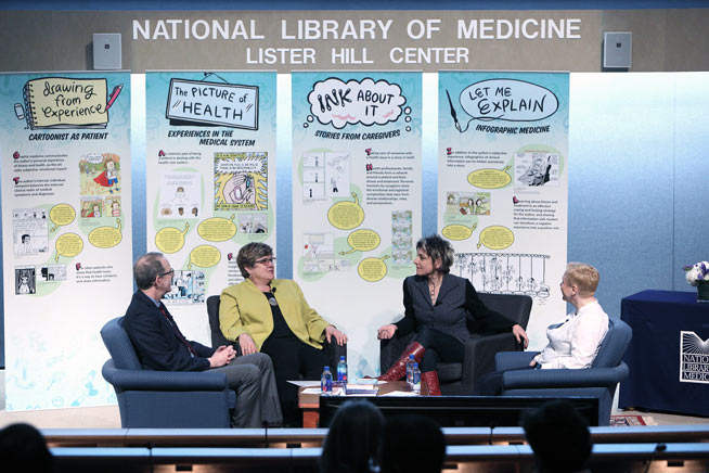 Panel at the National Library of Medicine